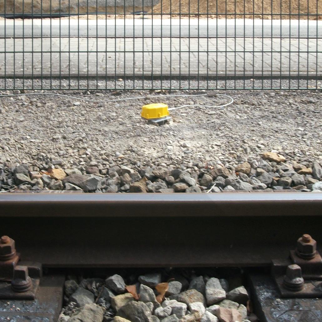 Erschütterungen durch Schienenverkehr